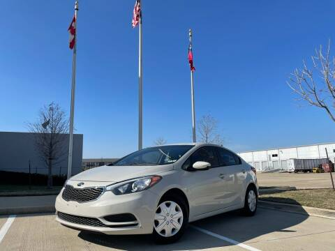 2014 Kia Forte for sale at TWIN CITY MOTORS in Houston TX