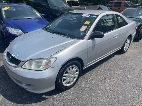 2005 Honda Civic for sale at Trocci's Auto Sales in West Pittsburg PA