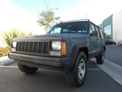 1996 Jeep Cherokee for sale at J'S MOTORS in San Diego CA