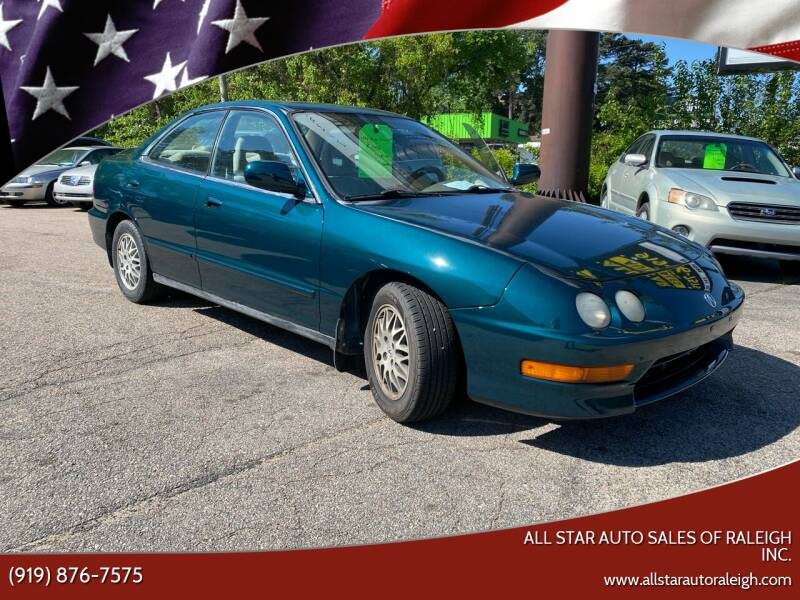 1998 Acura Integra for sale at All Star Auto Sales of Raleigh Inc. in Raleigh NC