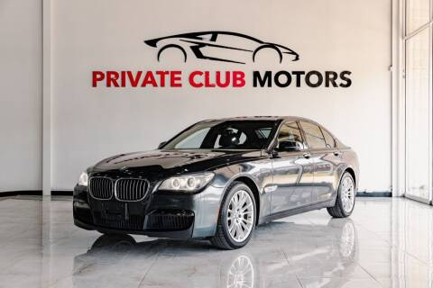 2014 BMW 7 Series for sale at Private Club Motors in Houston TX