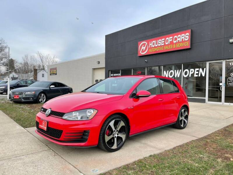 2017 Volkswagen Golf GTI for sale at HOUSE OF CARS CT in Meriden CT