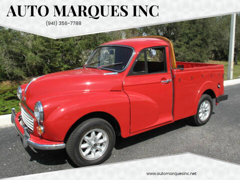 1967 MORRIS MINOR PICK UP TRUCK for sale at Auto Marques Inc in Sarasota FL