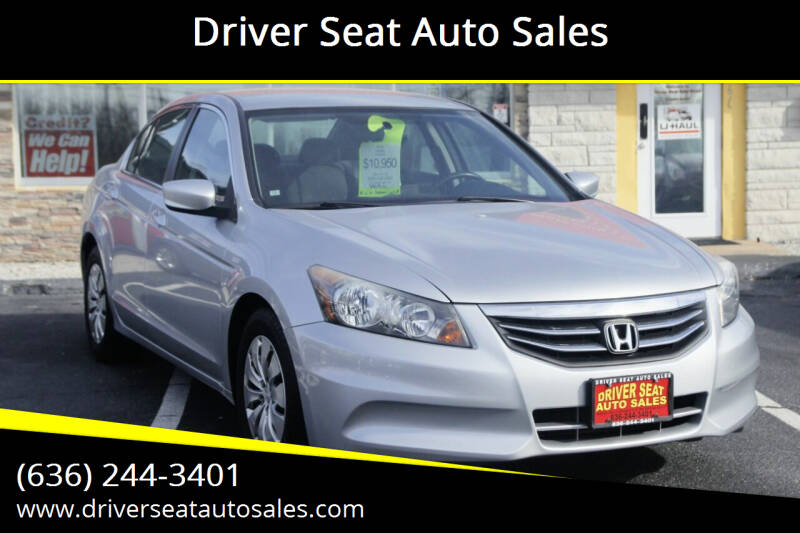 2012 Honda Accord for sale at Driver Seat Auto Sales in St. Charles MO