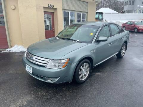 2008 Ford Taurus for sale at Autowright Motor Co. in West Boylston MA