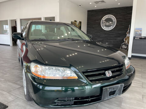 2001 Honda Accord for sale at Evolution Autos in Whiteland IN