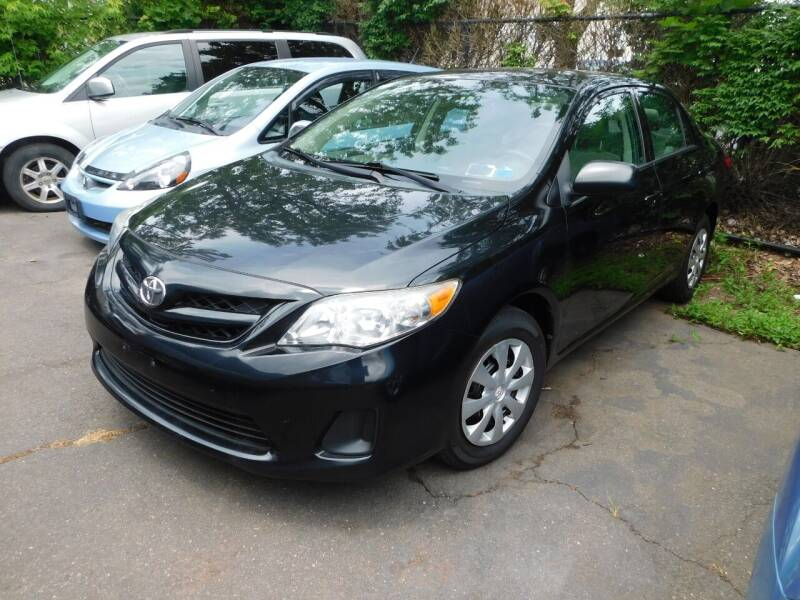 2011 Toyota Corolla for sale at CAR CORNER RETAIL SALES in Manchester CT