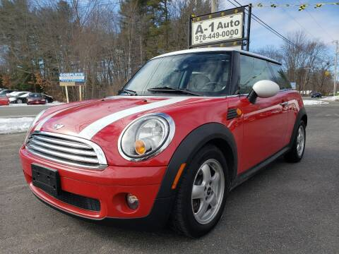2010 MINI Cooper for sale at A-1 Auto in Pepperell MA