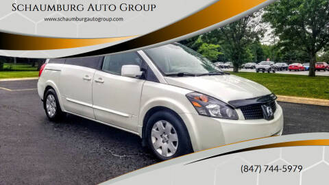2006 Nissan Quest for sale at Schaumburg Auto Group in Schaumburg IL