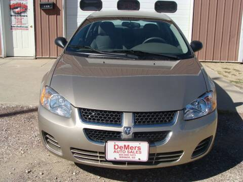 2004 Dodge Stratus for sale at DeMers Auto Sales in Winner SD