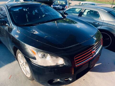 2009 Nissan Maxima for sale at Naber Auto Trading in Hollywood FL