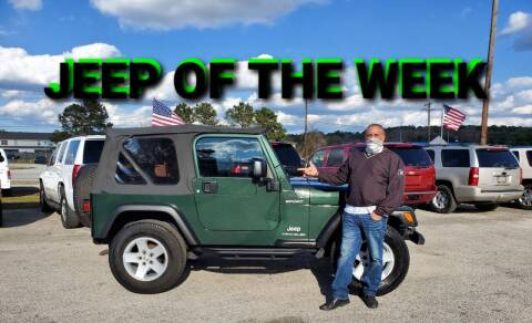 2004 Jeep Wrangler for sale at Rodgers Enterprises in North Charleston SC