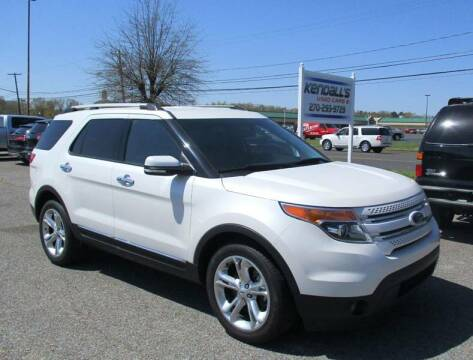 2015 Ford Explorer for sale at Kendall's Used Cars 2 in Murray KY