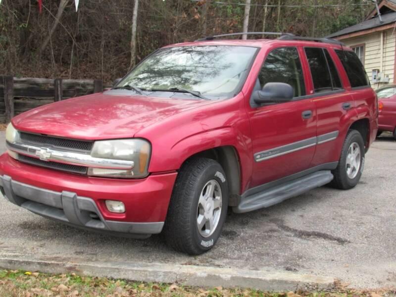 2002 Chevrolet TrailBlazer for sale at Mc Calls Auto Sales in Brewton AL