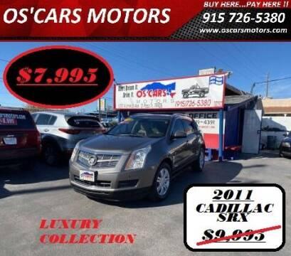 2011 Cadillac SRX for sale at Os'Cars Motors in El Paso TX