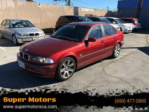 2001 BMW 3 Series for sale at Super Motors in San Mateo CA