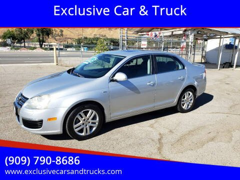 2007 Volkswagen Jetta for sale at Exclusive Car & Truck in Yucaipa CA