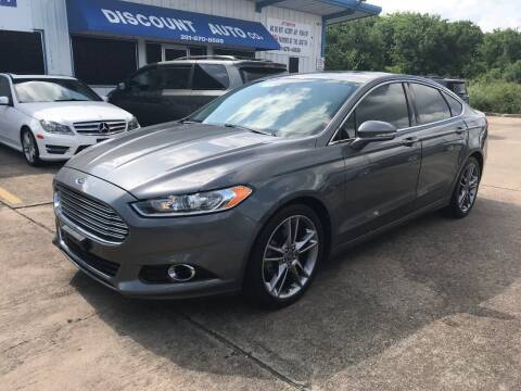 2013 Ford Fusion for sale at Discount Auto Company in Houston TX