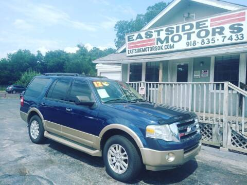 2012 Ford Expedition for sale at EASTSIDE MOTORS in Tulsa OK