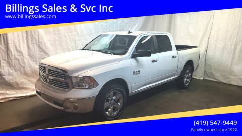 2018 RAM Ram Pickup 1500 for sale at Billings Sales & Svc Inc in Clyde OH