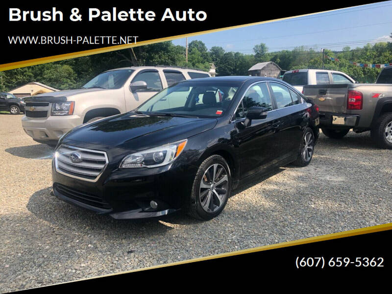 2015 Subaru Legacy for sale at Brush & Palette Auto in Candor NY