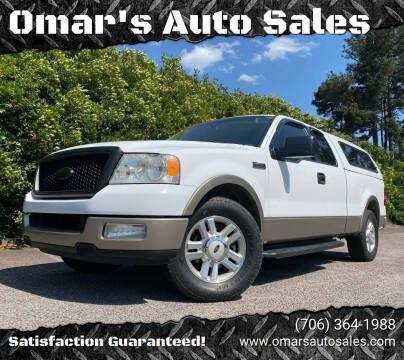 2004 Ford F-150 for sale at Omar's Auto Sales in Martinez GA