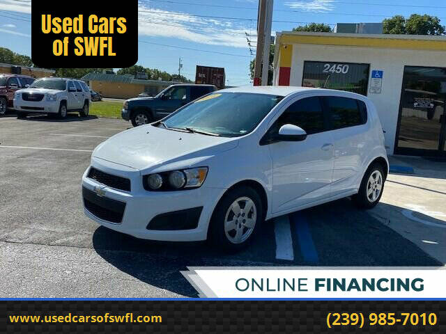 2016 Chevrolet Sonic for sale at Used Cars of SWFL in Fort Myers FL