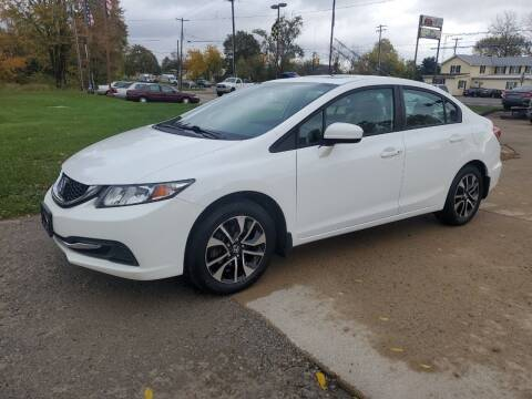 2014 Honda Civic for sale at Kachar's Used Cars Inc in Monroe MI