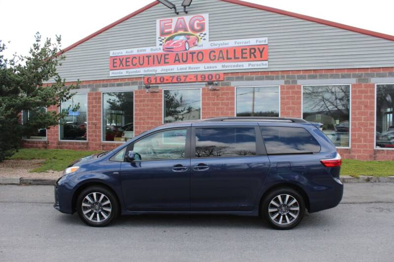 2020 Toyota Sienna for sale at EXECUTIVE AUTO GALLERY INC in Walnutport PA