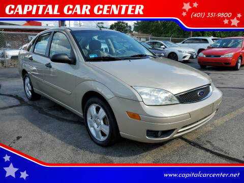 2007 Ford Focus for sale at CAPITAL CAR CENTER in Providence RI