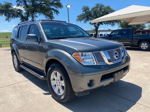 2007 Nissan Pathfinder for sale at Thornhill Motor Company in Hudson Oaks, TX