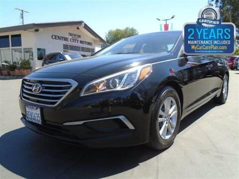 2016 Hyundai Sonata for sale at Centre City Motors in Escondido CA