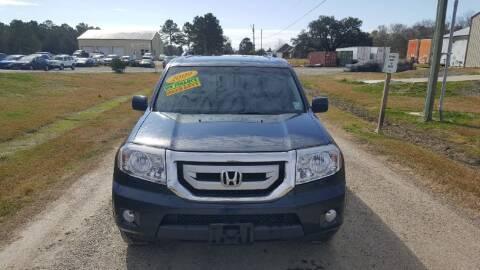 2009 Honda Pilot for sale at Auto Guarantee, LLC in Eunice LA