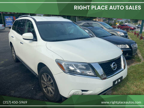 2016 Nissan Pathfinder for sale at Right Place Auto Sales in Indianapolis IN