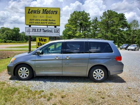 2009 Honda Odyssey for sale at Lewis Motors LLC in Deridder LA