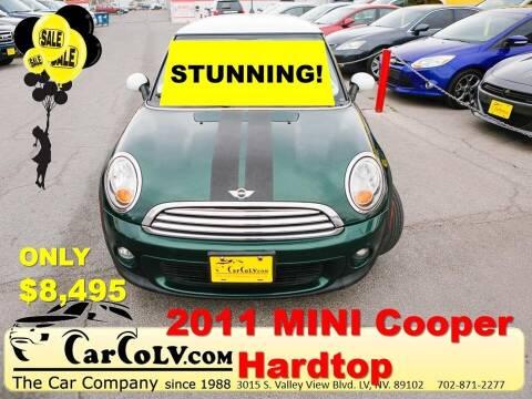2011 MINI Cooper for sale at The Car Company in Las Vegas NV