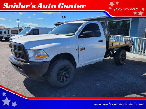 2012 RAM Ram Pickup 2500 for sale at Snider's Auto Center in Titusville FL