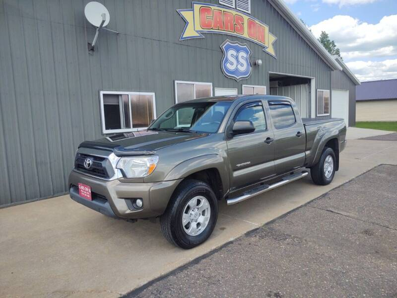 2014 Toyota Tacoma for sale at CARS ON SS in Rice Lake WI