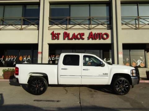 2012 Chevrolet Silverado 1500 for sale at First Place Auto Ctr Inc in Watauga TX