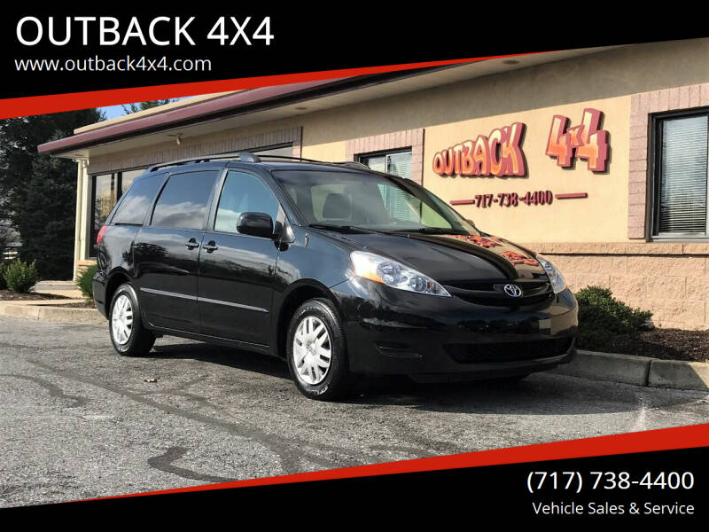 2009 Toyota Sienna for sale at OUTBACK 4X4 in Ephrata PA