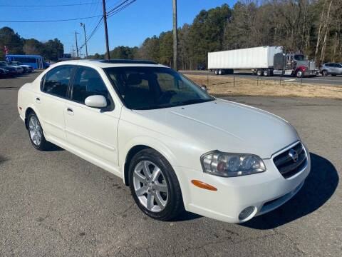2002 Nissan Maxima for sale at CVC AUTO SALES in Durham NC
