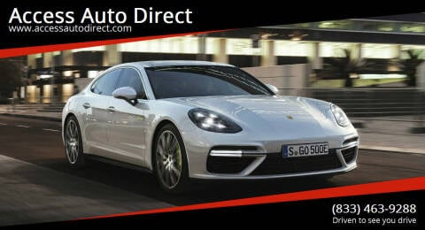2018 Porsche Panamera for sale at Access Auto Direct in Baldwin NY