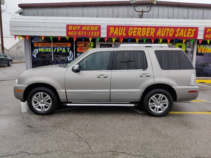 2008 Mercury Mountaineer for sale at Paul Gerber Auto Sales in Omaha NE