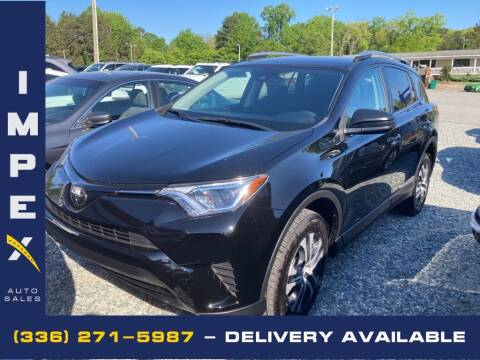 2017 Toyota RAV4 for sale at Impex Auto Sales in Greensboro NC
