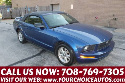 2006 Ford Mustang for sale at Your Choice Autos in Posen IL