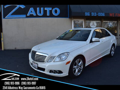 2011 Mercedes-Benz E-Class for sale at Z Auto in Sacramento CA