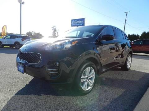 2017 Kia Sportage for sale at Leitheiser Car Company in West Bend WI