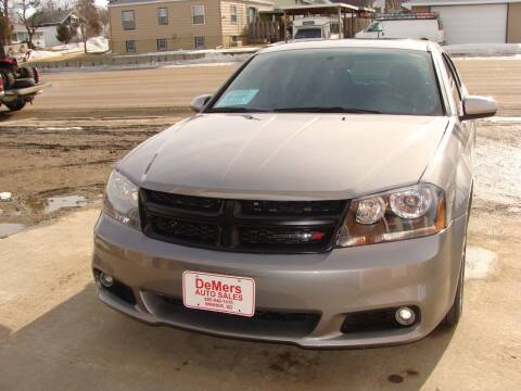 2014 Dodge Avenger for sale at DeMers Auto Sales in Winner SD