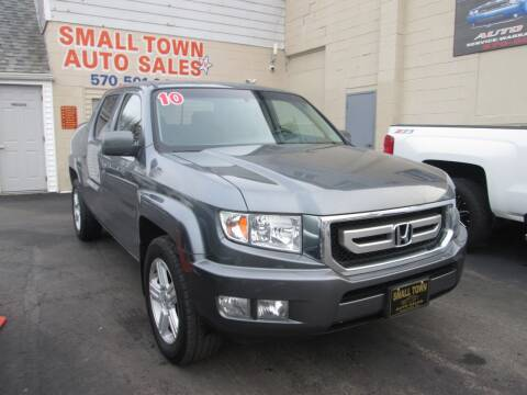 2010 Honda Ridgeline for sale at Small Town Auto Sales in Hazleton PA