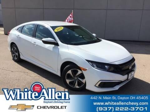 2019 Honda Civic for sale at WHITE-ALLEN CHEVROLET in Dayton OH